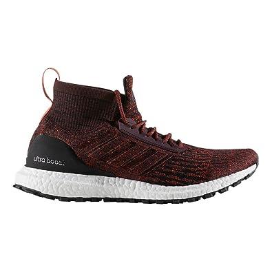51c191d9002 adidas Men's Ultraboost All Terrain - Color: Dark Burgundy/Dark  Burgundy/Energy (Regular Width) - Size: 11.5