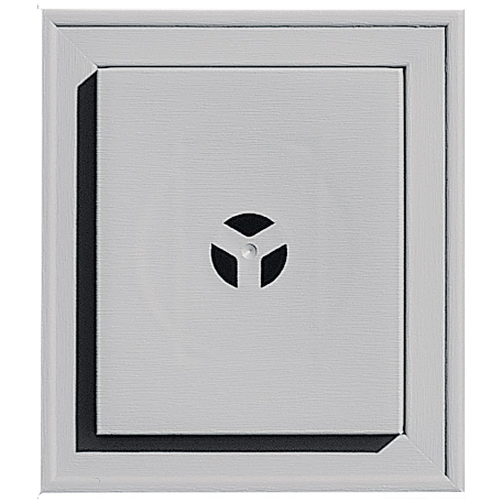 Builders Edge 130110002016 Squared Mounting Block 016, Gray The TAPCO Group - DROPSHIP