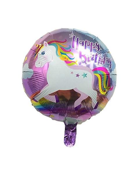 WSJQQ 17 Estilo Unicornio Globos De Fiesta Cumpleaños Boda ...