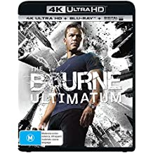 The Bourne Ultimatum 4K UHD Blu-ray | Directed by Paul Greengrass | NON-USA Format | Region B Import - Australia