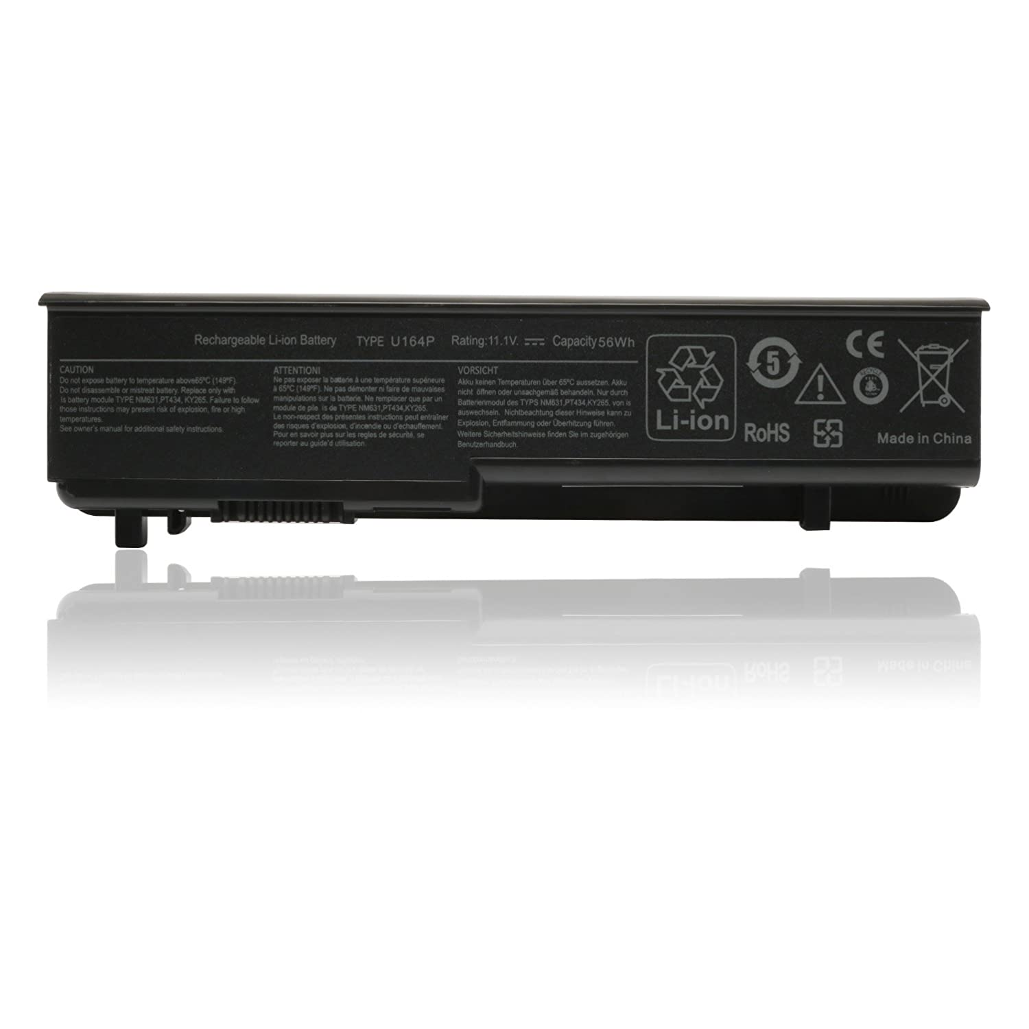 Easystyle 56wh Laptop Dell Battery For Studio 17 1700 Wiring Diagram 1745 1747 1749compatible P Nn856p U164p M905p U150p 312 0186 3120 196 Computers