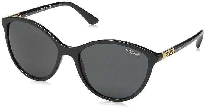 Vogue 0vo5165s W44/87 55 Gafas de Sol, Black, Mujer