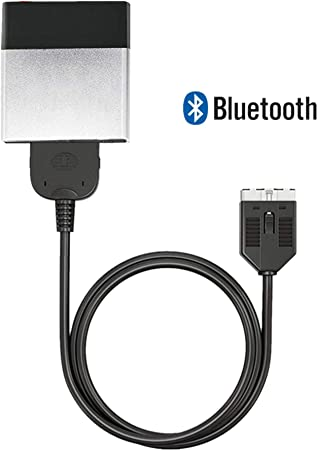 Wireless Bluetooth Car Adaptor Music Interface Compatible with Range Rover, Land Rover, Jaguar in car Pod Integration