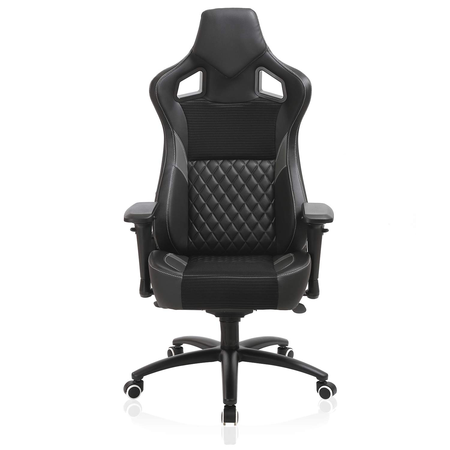 Esports Gaming Memory Foam Chair-Larger Size Racing Style Ergonomic Reclining Swivel High Back Computer Chair, 4D Armrest Tilt Lock Big and Tall 350lb by XISHE