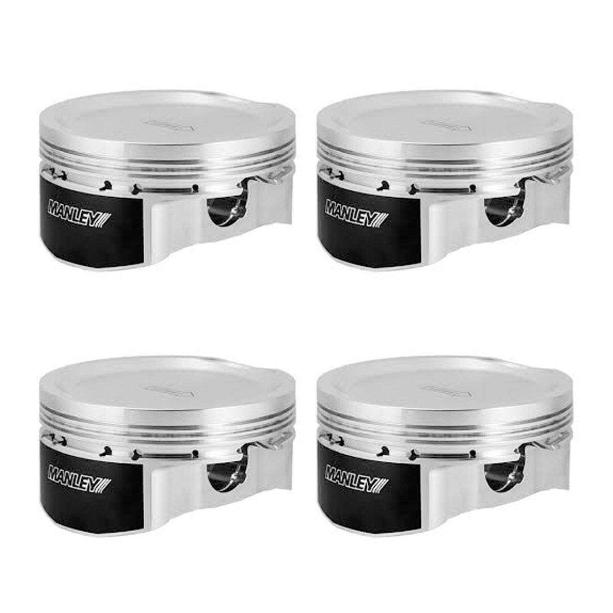 Manley 632102CE-4 Piston Kit Set 04+ Subaru WRX 99.75mm +.25mm Size Bore 9.8 CR Extreme Duty F//T with Rings