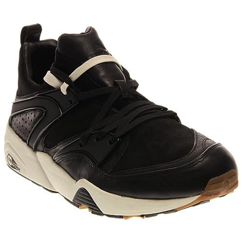 la meilleure attitude 5d321 c6d00 PUMA Blaze of Glory Round Toe Leather Sneakers