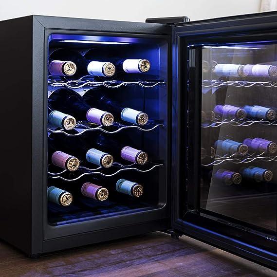 Cecotec Vinoteca Grand Sommelier 1200 CoolCrystal. 12 Botellas ...