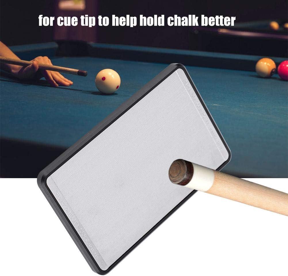 Rectangle Aluminium Billiards Pool Cue Herramienta de reparación de Puntas de Billar portátil Accesorios para Billar Pool Stick Care: Amazon.es: Deportes y aire libre
