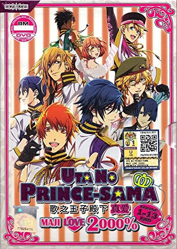 Uta no Prince-Sama Maji Love 2000% (TV 1 - 13 End) (DVD, Region All) English Subtitles Japanese Anime
