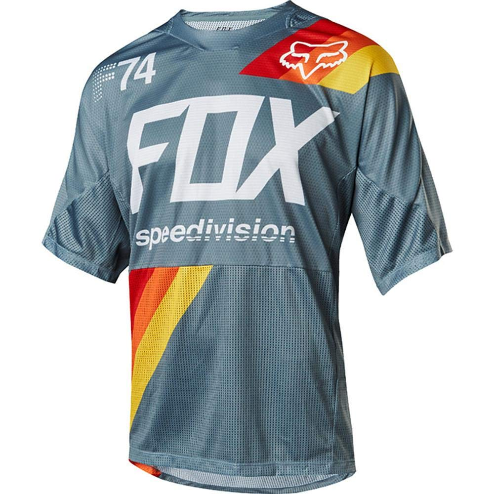 Moto Fox Head 74th Summer Motocross Wear Short Sleeve Quick ...