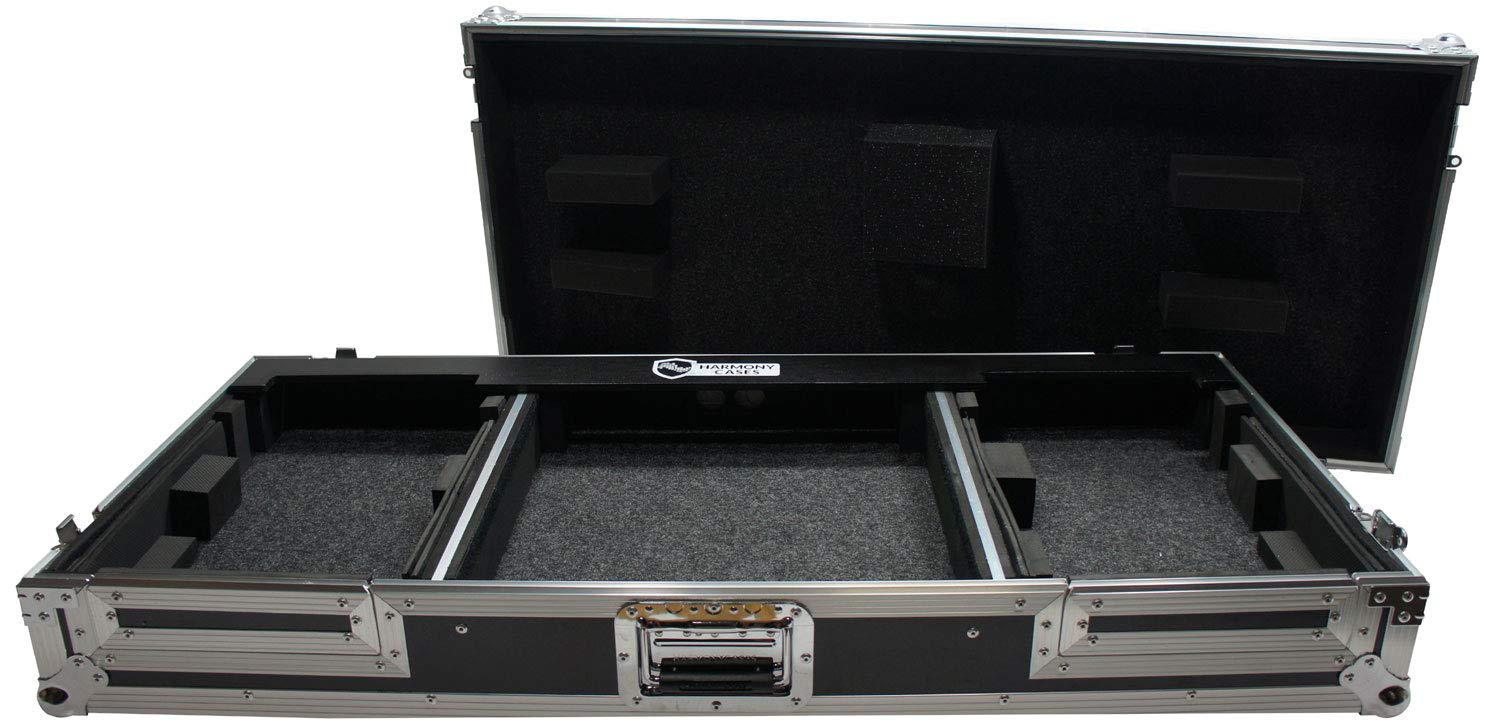 Harmony HCCDJDJM2KW Coffin Flight Ready DJ Pioneer DJM-2000 & CDJ-2000 Case Harmony Audio
