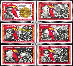sellos para coleccionistas: DDR (RDA) 1196-1201 (completa.edición) matasellado 1966 La Guerra Civil Española