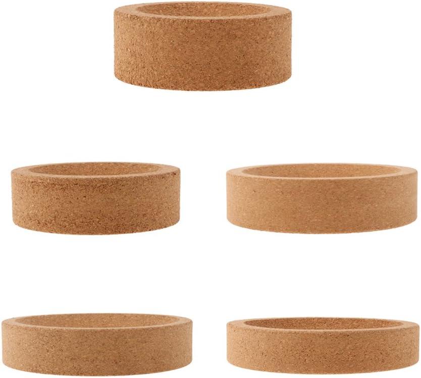 80 mm Soporte de Cristaler/ía Titular de Frasco Laboratorio Productos de Autom/óvil Cortac/éspedes Jard/ín Deco