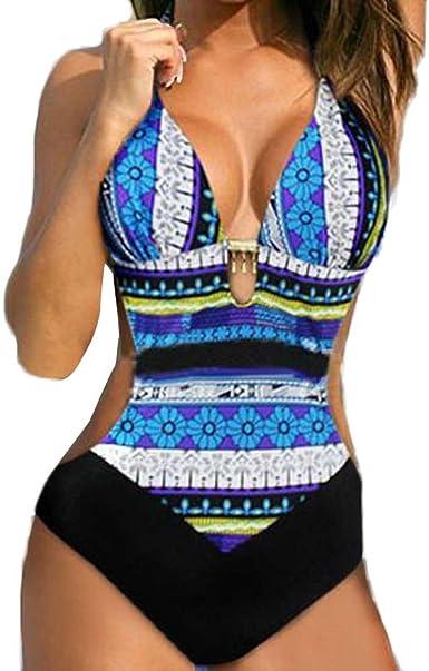 personaje Recuento juego  Fannyfuny_Bikinis Mujer Bañadores de Mujer Trikinis Mujer Bañadores Mujer  Sexy Bikini Mujer Cintura Alta Push up Traje de Baño de Uno Pieza Conjunto  Delgadas: Amazon.es: Ropa y accesorios