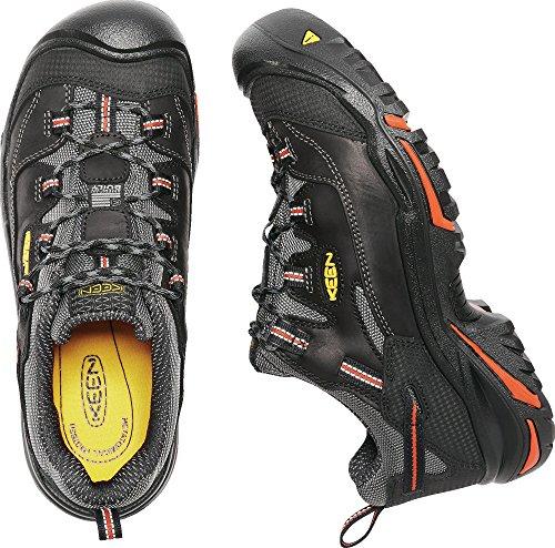 KEEN Utility Men's Braddock Low Steel-Toed Boot,Black/Bossa Nova,10.5 D US by KEEN Utility (Image #8)