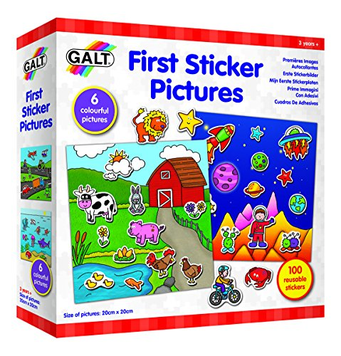Galt Play Learn Sticker Pictures