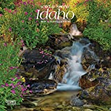 Idaho, Wild & Scenic 2019 7 x 7 Inch Monthly Mini Wall Calendar, USA United States of America Rocky Mountain State Nature