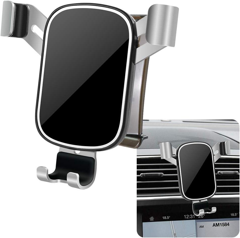 Auto Accessories Navigation Bracket Interior Decoration Mobile Cellphone Mount LUNQIN Car Phone Holder for 2016-2019 Ford Explorer Big Phones with Case Friendly