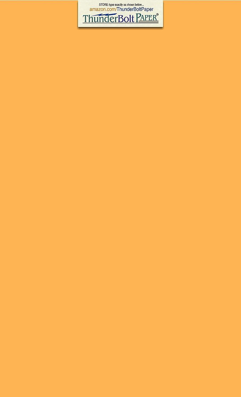 50枚 明るいゴールド 65ポンド カバー カード用紙 - 8.5 X 14インチ リーガル&メニューサイズ - 65ポンド/ポンド 軽量厚紙 - 高品質の印刷可能な滑らかな表面で明るくカラフルな仕上がり B07N16PX94