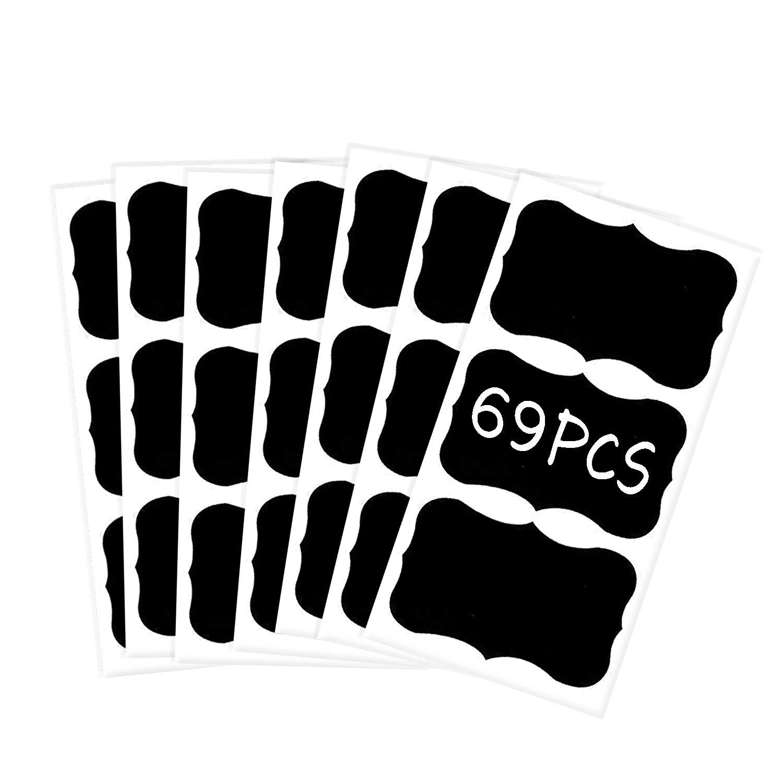 2 X 3 Chalkboard Labels Pack of 69 Medium Fancy Rectangles