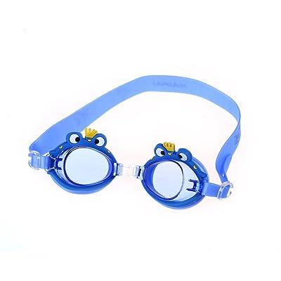 Enfants Jeunes Confort En Forme Piscine Protection Imperméable UV Anti Brouillard Clair Natation Lunettes De Plongée Avec