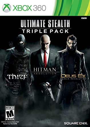 Amazon Com Ultimate Stealth Triple Pack Thief Hitman