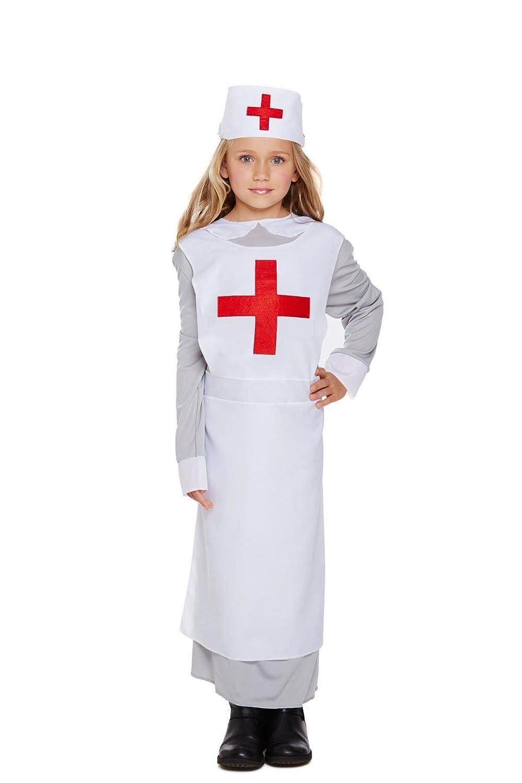 Kinder Kleid bis die WORLD WAR 1 ersten Weltkrieges Mädchen Krankenschwester Fancy Kleid