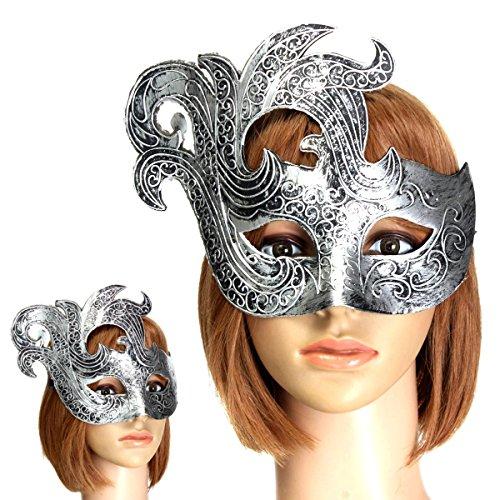 [Vintage Half Face Phoenix Mask Roman Greek Mam Lady Mask Costume Masquerade Ball Party Decor] (Phoenix Costume Diy)