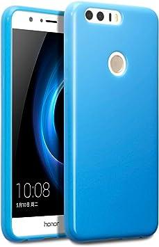 Huawei Honor 8 Funda Protectiva de Silicona Gel TPU estrecha ...