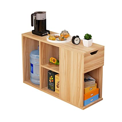 Amazon.com: Coffee Tables Tea Cart Side Cabinet Living Room ...
