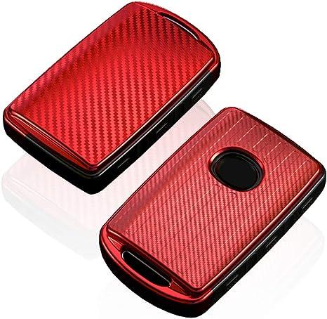 Leder Autoschlüssel Schutzhülle Für Mazda CX3 CX4 CX5 CX7 CX9 GT 2BT Schutz Case