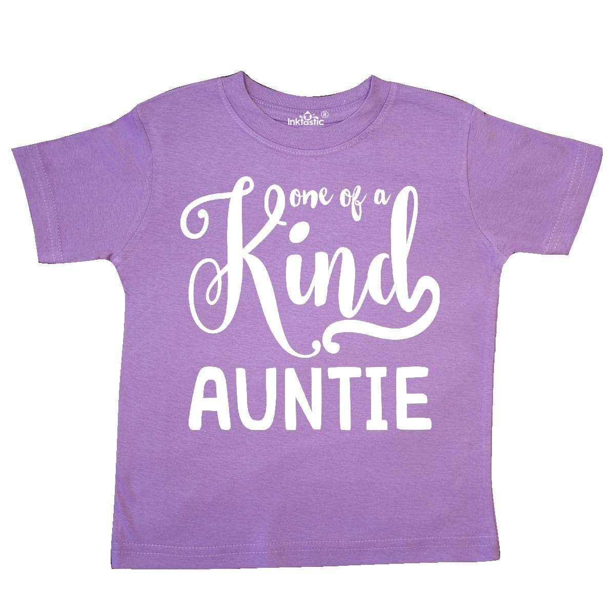 Toddler T-Shirt inktastic Gift for Aunts 1 of a Kind Auntie White
