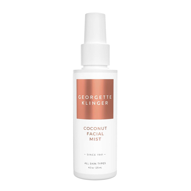 Coconut Facial Mist & Makeup Setting Spray by Georgette Klinger - Long Lasting Hydrating Toner Face Mist w/Aloe Vera & Green Tea for All Skin Types