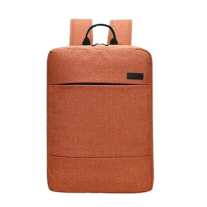 alxcio mochila para portátil ordenador portátil maletín bolsa para viaje negocio trabajo escuela mochila resistente a