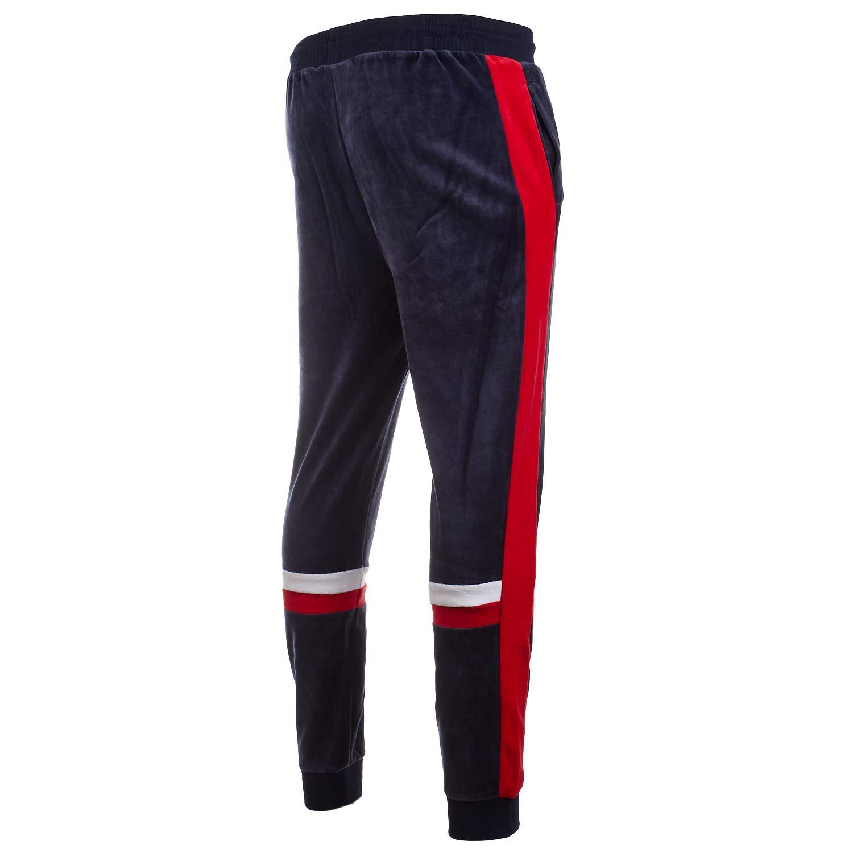 Fila Silvano Velour Track - Pantalones de chándal: Amazon.es: Ropa ...