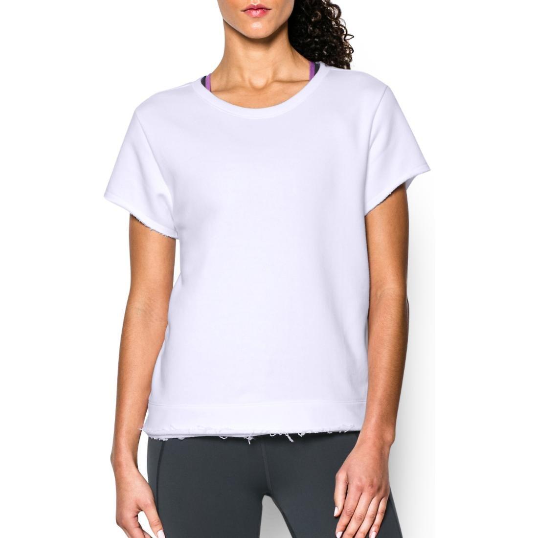 Under Armour Women's Boxy Studio Crew T-Shirt