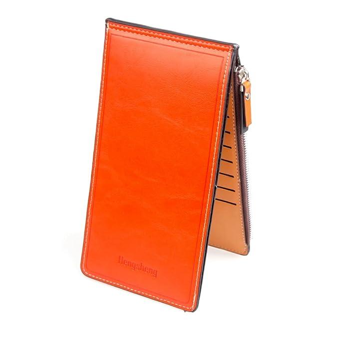 Amazon.com: portafolios de piel sintética de calidad para ...