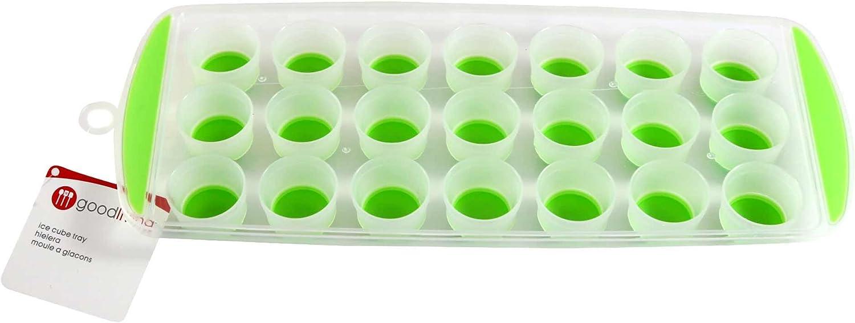 Ice Cube Orange Moule Easy Pop Maker Plastique Silicone Top Moule 18 Glaçons
