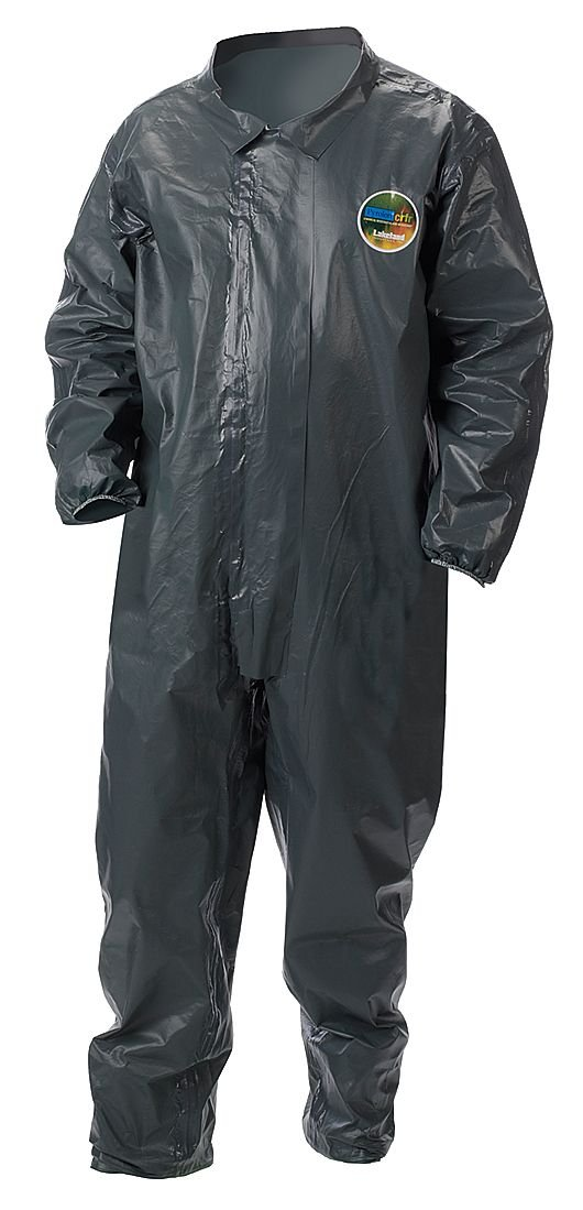 S Collared Chem-Resist Coverall Gray