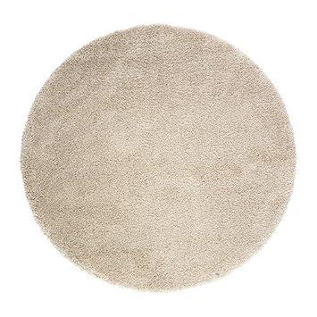 IKEA ADUM Langflor Teppich in elfenbeinweiß; (130cm): Amazon ...