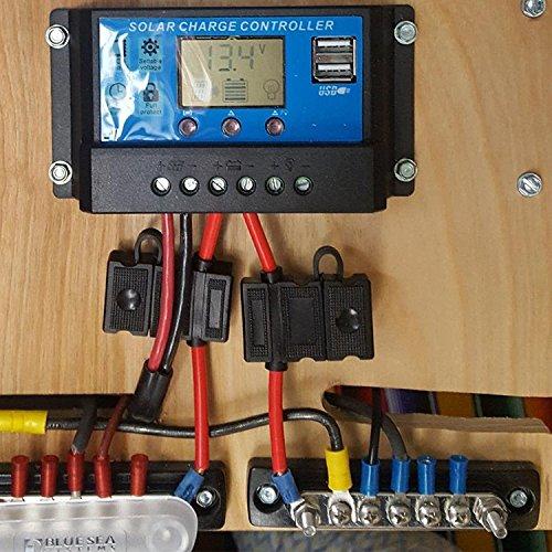IZTOSS 100A Common Line 5 Screws Buss Bar Terminal power and ground Junction distribution Block BussBar by IZTOSS (Image #5)