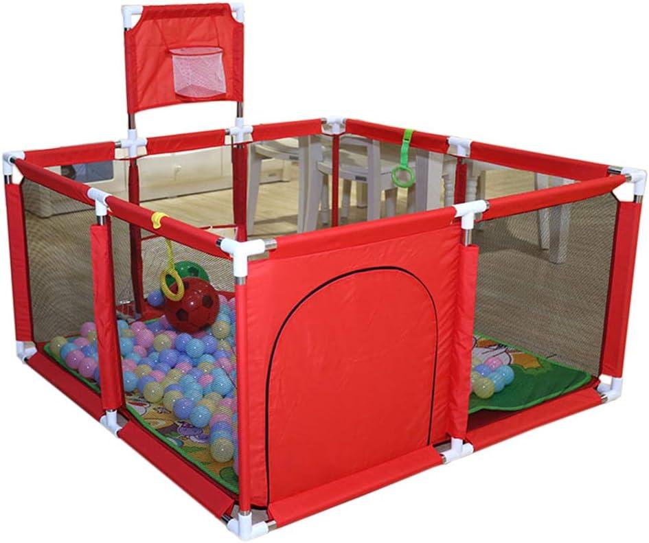 LIUSU-Baby Playpen Gimnasios para Bebés Y Tapetes De Juegos Colchones De Corral Parque Infantil De Seguridad Patio De Juegos Pluma De Juego Antideslizante para Vallas Interiores