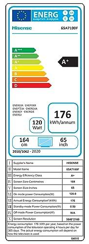 Hisense UHD TV 2020 65AE7000F - Smart TV Resolución 4K con Alexa integrada, Precision Colour, escalado UHD con IA, Ultra Dimming, audio DTS Studio Sound, Vidaa U 4.0: Amazon.es: Electrónica
