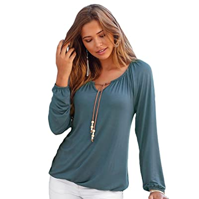 9ecd0063d090a MIOIM ブラウス レディース ファッション 長袖 Tシャツ 春 夏 セクシー 無地 大きいサイズ ゆったり カジュアル トップス