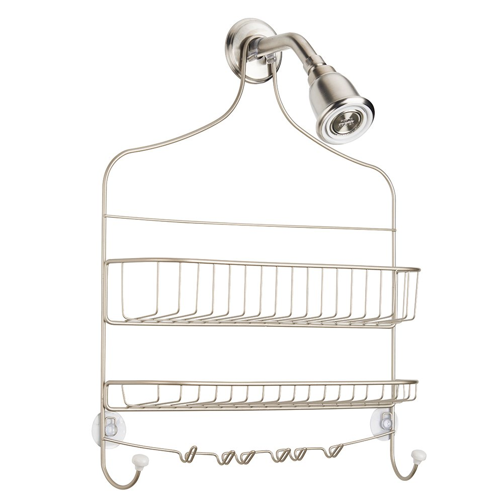 Amazon.com: InterDesign Cero Hanging Shower Caddy – Wide Bathroom ...