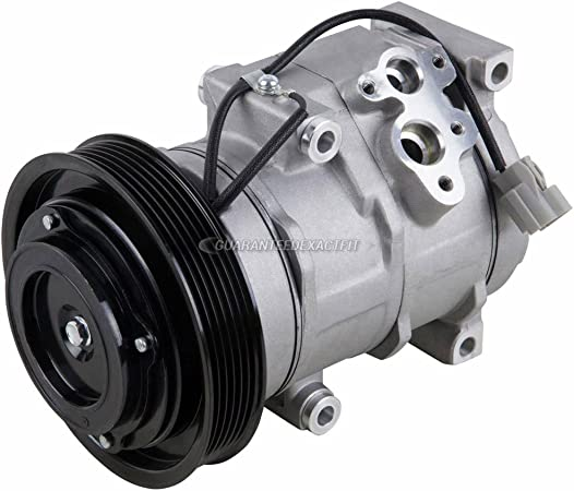BuyAutoParts 60-80433RK New For Honda Ridgeline 2007 2008 AC Compressor w//A//C Repair Kit