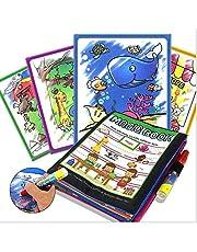 بيبي ماجيك المياه رسم كتاب مع القلم خربش القماش كتاب سحر العبث المياه الرسم حصيرة
