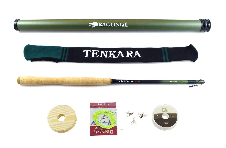 Dragontail Tenkara Hellbender 13-11.3' Zoom