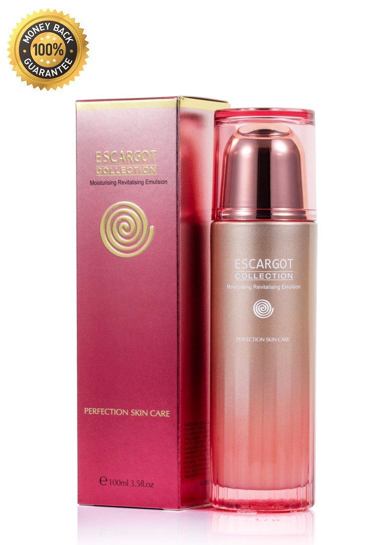 Escargot Collection - Crema hidratante antienvejecimiento (ideal para piel seca, antiarrugas, incluye ácidos hialurónicos y vitaminas): Amazon.es: Belleza