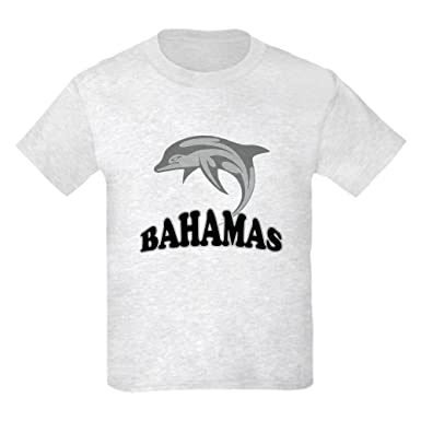 f4e69c75b2e Amazon.com: CafePress - Bahamas Dolphin Souvenir - Kids Cotton T ...